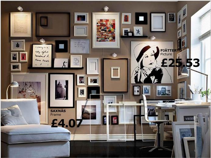 Muros cuadros cuadros muros for Diseno de paredes con cuadros
